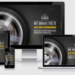 We Wheel Fix It – Website Build