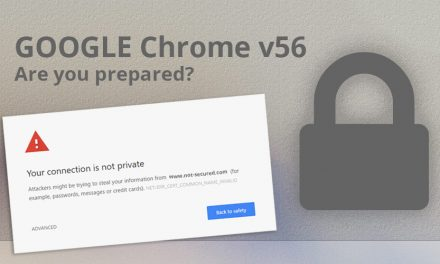 Google Chrome's 'Not Secure' Warning